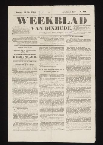 Weekblad van Dixmude 1863