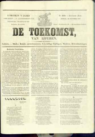 De Toekomst (1862 - 1894) 1868-11-22