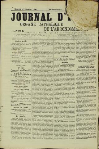Journal d'Ypres (1874 - 1913) 1906-11-21