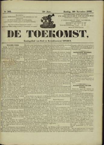 De Toekomst (1862 - 1894) 1889-11-10
