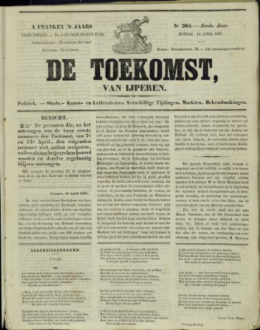 De Toekomst (1862 - 1894) 1867-04-14