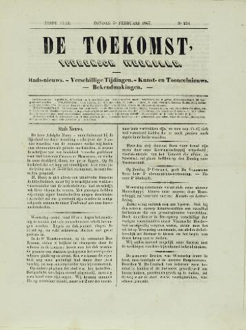 De Toekomst (1862 - 1894) 1867-02-03