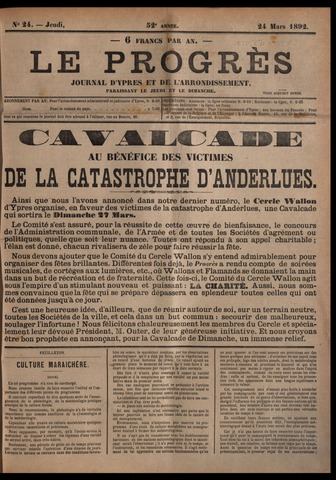 Le Progrès (1841-1914) 1892-03-24