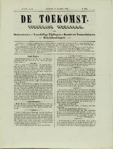 De Toekomst (1862 - 1894) 1867-03-03