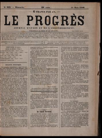 Le Progrès (1841-1914) 1880-03-14
