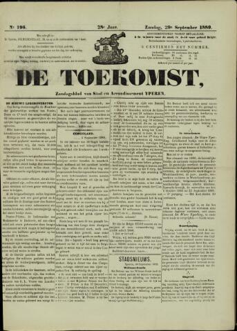 De Toekomst (1862 - 1894) 1889-09-29