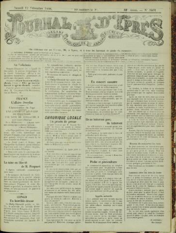 Journal d'Ypres (1874 - 1913) 1898-12-17