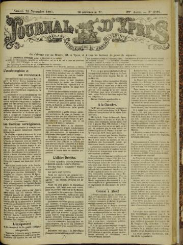 Journal d'Ypres (1874 - 1913) 1897-11-20