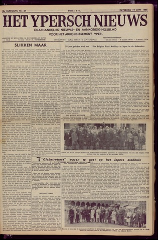 Het Ypersch nieuws (1929-1971) 1965-06-19