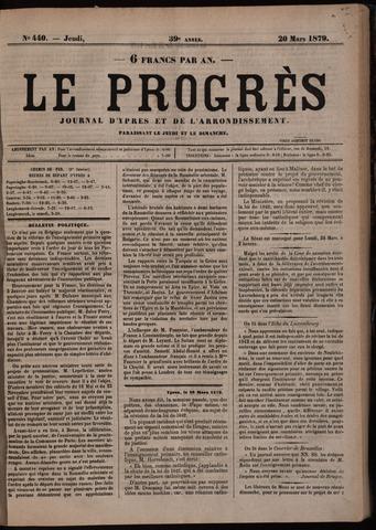 Le Progrès (1841-1914) 1879-03-20