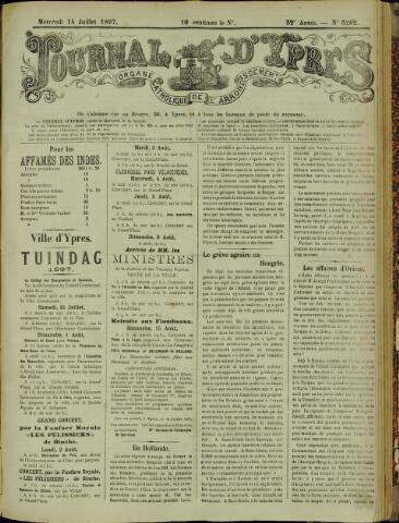 Journal d'Ypres (1874 - 1913) 1897-07-14