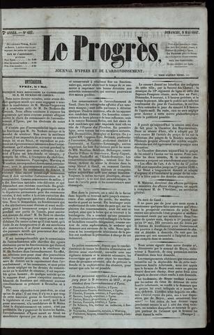 Le Progrès (1841-1914) 1847-05-09