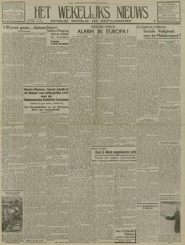 Het Wekelijks Nieuws (1946-1990) 1948-03-06