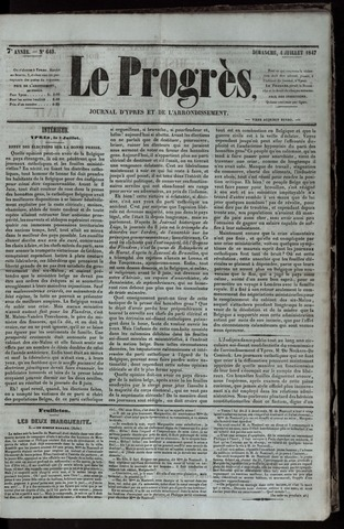 Le Progrès (1841-1914) 1847-07-04