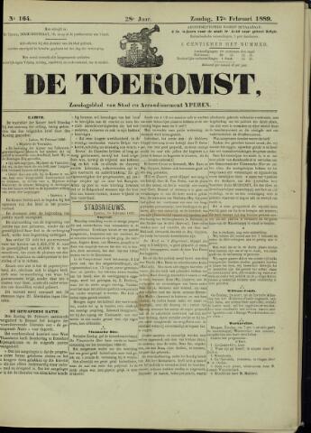 De Toekomst (1862 - 1894) 1889-02-17