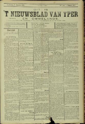 Nieuwsblad van Yperen en van het Arrondissement (1872 - 1912) 1905-12-09