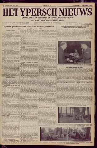 Het Ypersch nieuws (1929-1971) 1965-10-02