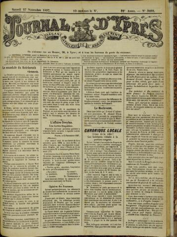 Journal d'Ypres (1874 - 1913) 1897-11-27