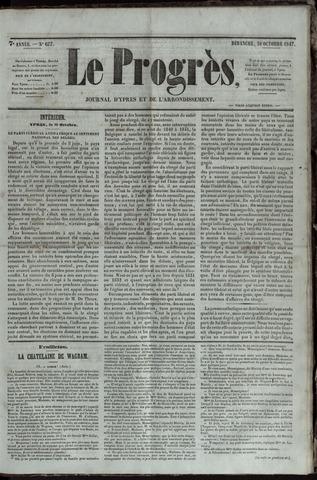 Le Progrès (1841-1914) 1847-10-31