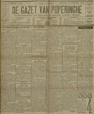 De Gazet van Poperinghe  (1921-1940) 1930-01-19