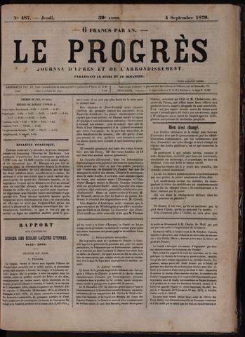 Le Progrès (1841-1914) 1879-09-04