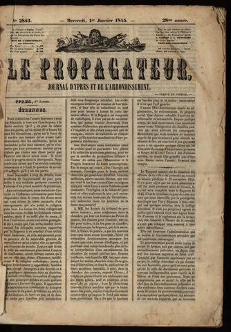Le Propagateur (1818-1871) 1845