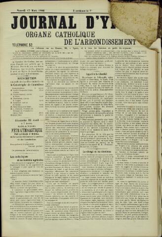 Journal d'Ypres (1874 - 1913) 1906-03-17