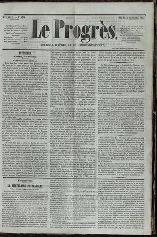 Le Progrès (1841-1914) 1847-10-07