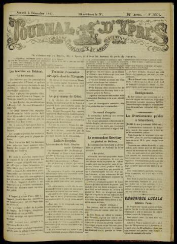 Journal d'Ypres (1874 - 1913) 1897-12-04