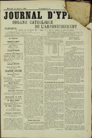 Journal d'Ypres (1874 - 1913) 1906-01-10