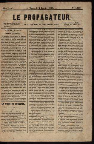 Le Propagateur (1818-1871) 1861
