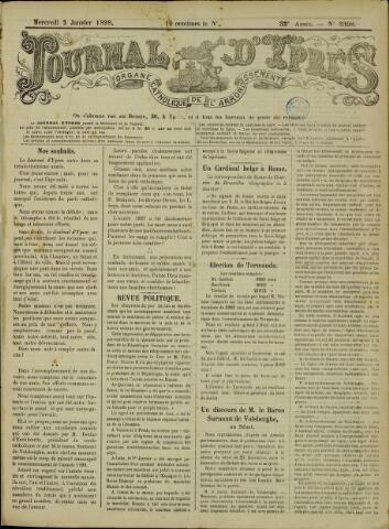 Journal d'Ypres (1874 - 1913) 1898-01-05