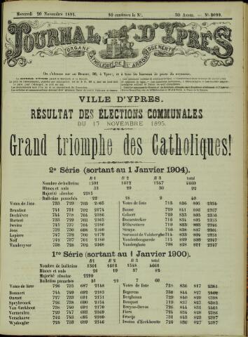 Journal d'Ypres (1874 - 1913) 1895-11-20