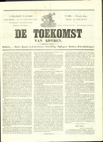 De Toekomst (1862 - 1894) 1871-02-12