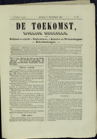 De Toekomst (1862 - 1894) 1863-11-01