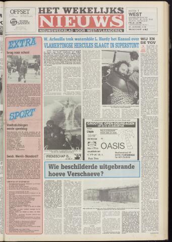 Het Wekelijks Nieuws (1946-1990) 1987-08-21