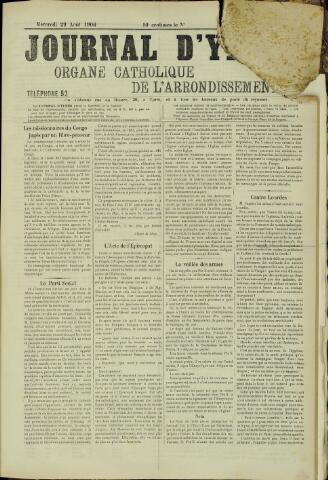 Journal d'Ypres (1874 - 1913) 1906-08-29