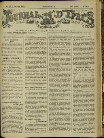 Journal d'Ypres (1874 - 1913) 1897-10-09
