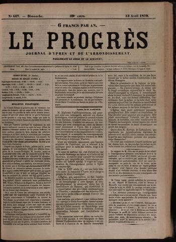 Le Progrès (1841-1914) 1879-04-13