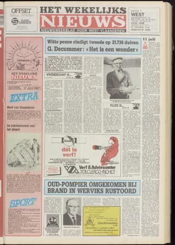 Het Wekelijks Nieuws (1946-1990) 1987-07-10