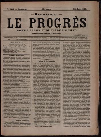 Le Progrès (1841-1914) 1879-06-22