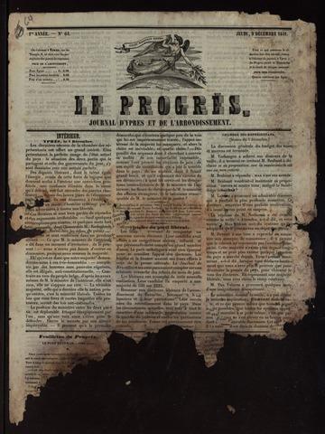 Le Progrès (1841-1914) 1841-12-09