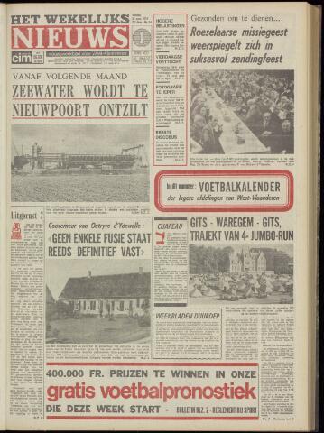 Het Wekelijks Nieuws (1946-1990) 1974-08-23