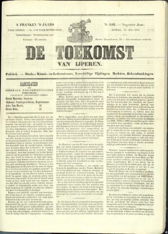 De Toekomst (1862 - 1894) 1870-07-31