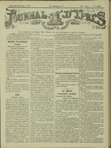 Journal d'Ypres (1874 - 1913) 1899-06-28