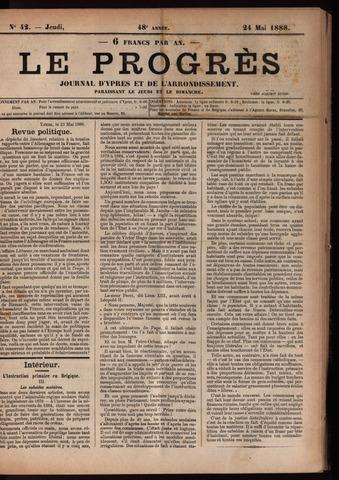 Le Progrès (1841-1914) 1888-05-24