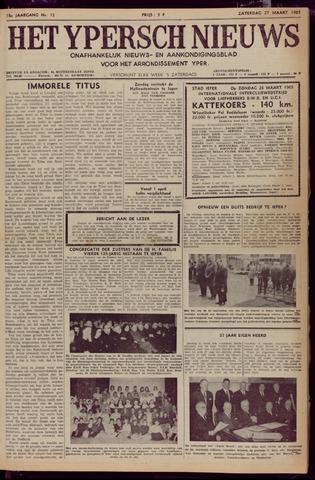 Het Ypersch nieuws (1929-1971) 1965-03-27