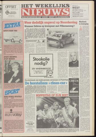 Het Wekelijks Nieuws (1946-1990) 1987-09-25