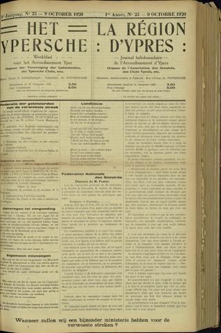 Het Ypersche (1925 - 1929) 1920-10-09