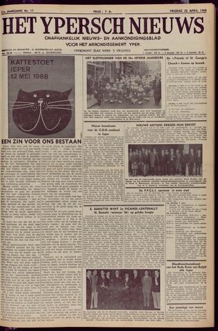 Het Ypersch nieuws (1929-1971) 1968-04-26